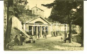 1915 ca ACQUI TERME Fontanina sulfurea e HOTEL ITALIA *Cartolina postale FP NV