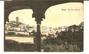 1920 ca BARGA (LU) Panorama da una terrazza *Cartolina postale FP VG