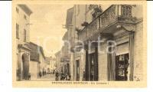 1915 ca CASTELLAZZO BORMIDA (AL) Viale UMBERTO I *Cartolina ANIMATA FP NV
