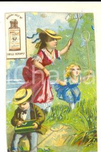 1900 ca SALTO (URUGUAY) Bouillon CIBILS HERMANOS *Figurina pubblicitaria 6x9