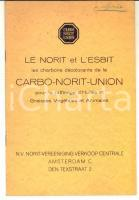 1940 ca CARBO-NORIT-UNION Les charbons décolorants pour raffinage 16 pp.