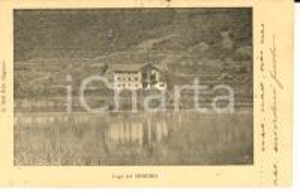 1901 Lago SEGRINO Panorama con una villetta *Cartolina postale FP VG