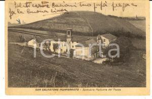 1947 SAN SALVATORE MONFERRATO Santuario MADONNA DEL POZZO *Cartolina FP VG