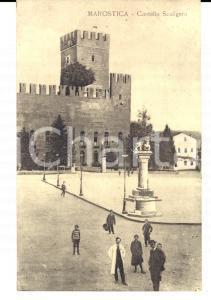 1915 ca MAROSTICA (VI) Castello SCALIGERO *Cartolina postale ANIMATA FP NV