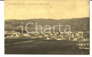 1920 ca ASIAGO (VI) Panorama dal BELL'OCCHIO *Cartolina postale FP NV