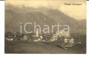 1921 MAGGIO (LC) VALSASSINA - Veduta panoramica *Cartolina VINTAGE FP VG