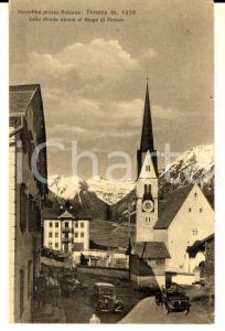 1933 SARENTINO (BZ) Veduta con il PENNES sulla strada nuova *Cartolina FP VG