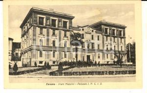 1930 ca TERAMO Viale Mazzini - Palazzo I.N.C.I.S. *Cartolina postale FP NV