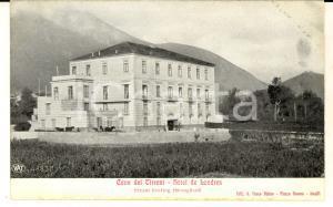 1915 ca CAVA DEI TIRRENI (SA) Hotel de Londres *Cartolina postale FP NV