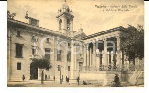 1930 PARTINICO (PA) Palazzo delle Scuole e Palchetto Musicale *Cartolina FP VG