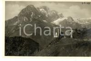 1931 VALLE DI SCALVE (BG) Il Pizzo della Presolana *Cartolina postale FP NV