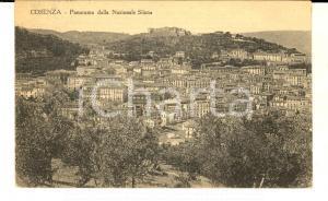 1929 COSENZA Panorama dalla Nazionale Silana *Cartolina postale FP VG
