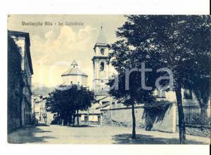 1928 VENTIMIGLIA ALTA Veduta con la cattedrale *Cartolina postale FP VG
