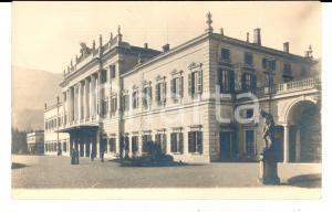 1915 ca COMO Veduta della facciata di VILLA OLMO *Cartolina ANIMATA FP NV