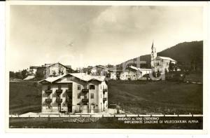 1936 ANDALO (TN) Veduta panoramica del paese *Cartolina postale FP VG
