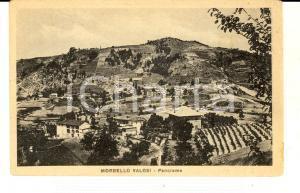 1930 MORBELLO (AL) Veduta frazione VALLOSI *Cartolina postale FP VG