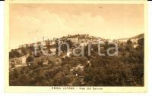 1956 ATENA LUCANA (SA) Vista dal SERRONE *Cartolina postale FP VG