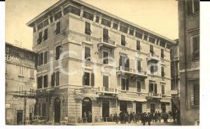 1921 BAGNI DI MONTECATINI Grand Hotel CORONA D'ITALIA - CALAMANDREI Cartolina FP