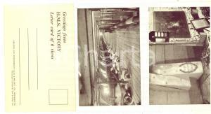 1950 ca ROYAL NAVY - HMS VICTORY - Letter card of 6 views *ed. GALE & POLDEN