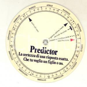 1970 ca PREDICTOR Disco di gravidanza pubblicitario *VINTAGE 10 cm