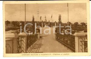 1935 CIMITERO MILITARE DI REDIPUGLIA L'ingresso *Cartolina ANIMATA FP VG