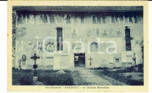 1930 ca PINZOLO (TN) Giudicarie - La Danza macabra *Cartolina postale FP NV