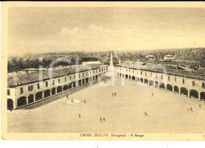 1930 ca CASTEL GUELFO / BOLOGNA Il Borgo *Cartolina postale FP NV