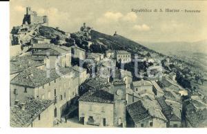 1910 ca REPUBBLICA SAN MARINO Panorama dall'alto *Cartolina postale FP NV