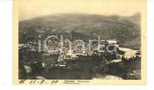 1930 ca TERAMO Veduta panoramica *Cartolina postale VINTAGE FP NV