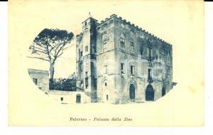 1930 PALERMO Veduta del palazzo della ZISA *Cartolina postale FP VG