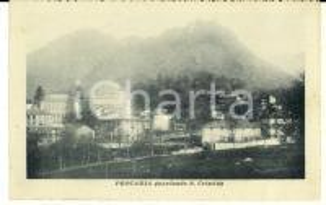 1920 PROCARIA / CERES (TO) Veduta da S. CRISTINA *Cartolina postale FP VG