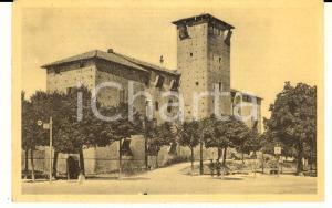 1942 VOGHERA (PV) Veduta del Castello Sforzesco *Cartolina postale VINTAGE FP NV