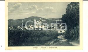 1920 BORGIO VEREZZI (SV) Veduta panoramica del paese *Cartolina FP VG
