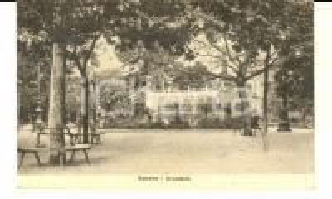 1920 GENOVA Veduta dell'ACQUASOLA *Cartolina postale VINTAGE FP VG