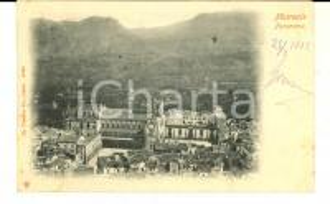 1902 MONREALE (PA) Panorama generale *Cartolina postale FP VG