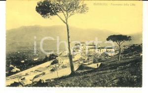 1910 ca MONREALE (PA) Panorama della città *Cartolina postale FP NV