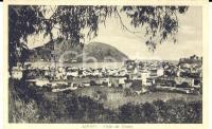 1942 LIPARI (ME) Panorama generale da DIANA *Cartolina postale FP NV