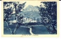 1910 ca FOSSE (VR) Panorama del paese *Cartolina postale VINTAGE FP NV