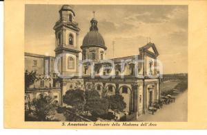 1940 SANT'ANASTASIA (NA) Santuario MADONNA DELL'ARCO *Cartolina VINTAGE FP VG