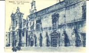 1949 SULMONA (AQ) Chiesa SS. ANNUNZIATA *Cartolina VINTAGE FP VG