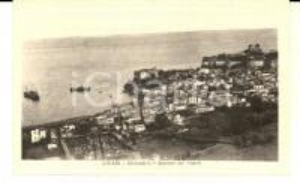1930 ca LIPARI (ME) Sbarcadero - Approdo dei vapori *Cartolina postale FP NV