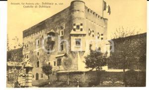 1930 ca DOBBIACO (BZ) Veduta del castello *Cartolina postale FP NV
