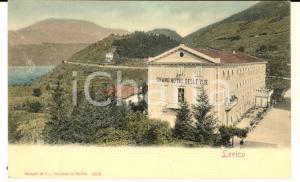1900 ca LEVICO TERME (TN) Grand Hotel BELLE VUE *Cartolina ILLUSTRATA FP NV