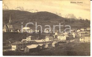 1930 MOENA Veduta panoramica del paese *Cartolina VINTAGE FP VG