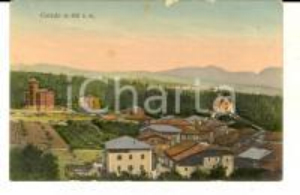1915 ca COREDO (TN) Veduta panoramica generale *Cartolina ILLUSTRATA FP NV