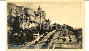 1929 CAGLIARI Veduta di viale Regina ELENA *Cartolina postale VINTAGE FP VG