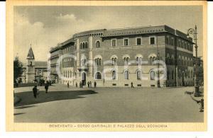 1947 BENEVENTO Corso GARIBALDI e Palazzo dell'ECONOMIA *ANIMATA FP VG