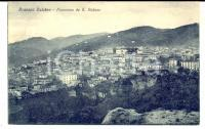 1928 ROSSANO CALABRO (CS) Panorama da S. STEFANO *Cartolina postale FP VG