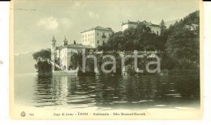 1933 LENNO (CO) BALBIANELLO - Villa ARCONATI-VISCONTI*Cartolina FP VG
