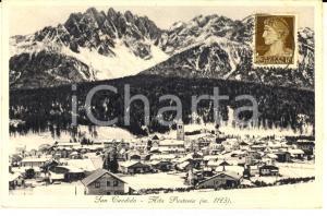 1936 SAN CANDIDO (BZ) Panorama del paese - VAL PUSTERIA *Cartolina FP VG
